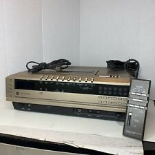 Vintage Sears Betavision Video Cassette Recorder 562 Special Effects W/Remote