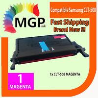 1x Compatible Magenta Toner for Samsung CLT508L CLT-M508L CLX6250