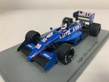 Spark F1 Ligier JS31 n°26 S. Johansson GP Detroit 1988 1/43 S3969 0520