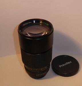 FAST PRINZFLEX 200mm F3.5 TELEPHOTO LENS for PENTAX FILM & DIGITAL SLRs , CLEAN