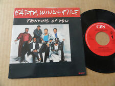 """DISQUE 45T DE EARTH WIND AND FIRE  """" THINKING OF YOU """""""