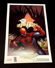 Giuseppe Camuncoli stampa 43,5x28 firmata Spiderman Uomo Ragno Marvel Comics