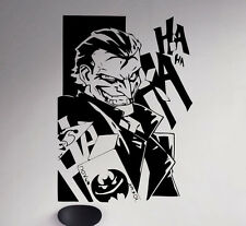 Joker Wall Decal Batman Vinyl Sticker DC Comics Removable Home Art Decor 8(nse)