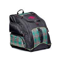 "Mountain Pro ""Everything"" Backpack Bag, Black/Plaid Snowboard Ski Equipment"