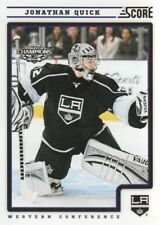 2012-13 Score Hockey #224 Jonathan Quick Los Angeles Kings
