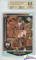1998/99 UD Ovation Superstars of the Court #C1 Michael Jordan BGS 9.5 GEM MINT