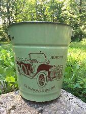 RARE Vintage OLDSMOBILE UM 1911 Horch 8 Porcelain Water Bucket Advertising Sign