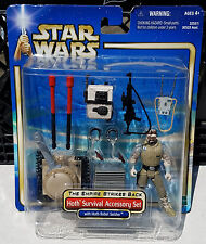 Star Wars HOTH SURVIVAL ACCESSORY SET with Rebel Soldier Action Figure MOC ESB