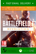 Battlefield 1 Revolution + BF 1943 bundle Xbox one - Fast code * READ TERMS*