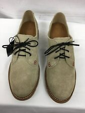Ariat casual suede oxford NWT, men sz 10 Med, light beige