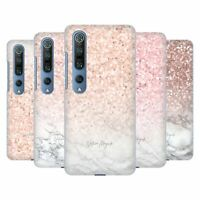 OFFICIAL NATURE MAGICK ROSE GOLD MARBLE GLITTER HARD BACK CASE FOR XIAOMI PHONES