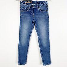 Crewcuts J. Crew Toothpick Skinny Girls Skinny Blue Denim Jeans Sz 7
