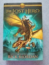 The Heroes of Olympus: The Lost Hero by Rick Riordan 2010, Hardcover 1st Edition