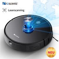 Proscenic M7 Pro Laser Saugroboter Wischfunktion Tierhaare APP Virtuelle Wand