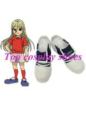 Inazuma Eleven Aphrodite Imitated Leather Cosplay Shoes Halloween Boots
