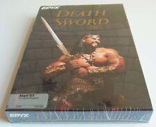 Atari st: Death sword-EPYX 1989 * NOUVEAU *