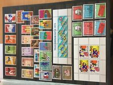 Netherlands Antilles various modern stamps sets nhm incl miniature sheets