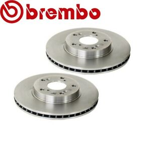 For Honda Accord CRV Civic Element Set of 2 Front Brake Rotor Brembo 45251S87A00