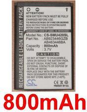 Batterie 800mAh type AB463446BA AB463446BABSTD Pour Samsung SPH-M500