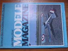 $$w Revue modele magazine N°275 Lextronic LX004  aile  vent  monographie MS 225