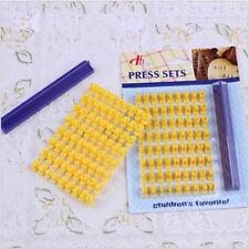 Fondant&letter impress set Alphabet Biscuit Letter Embosser cake Mold Cutter 957