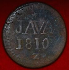 Netherlands East Indies-Java 1/2 Stuiver Louis-Napoléon 1810 wight 5 g ---m56