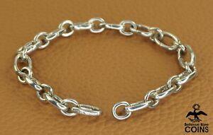 Tiffany & Co. Sterling Silver Link Bracelet ITALY