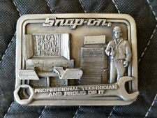 Snap-on Tools Professional Technician Belt Buckle