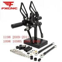 Rearset Footpegs Footrest Rear Set For Ducati Diavel 1198 1098 848 899 696 796