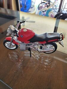 BMW R1100 Motorcycle Red Diecast Model 1:18 scale Maisto Special Edition