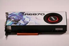 MSI R6870 AMD Radeon HD 6870 1GB Afterburner Graphics Card PCI (2X DVI IX HDMI )