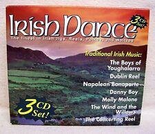 Irish Dance - Jigs Reels Polkas & Waltzes 3 CD Set USED CDs