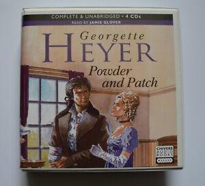 Georgette Heyer - Powder and Patch - Unabridged Audiobook 4CDs