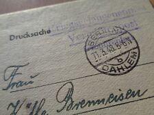 "WW2 era GERMAN PRISONER of WAR Mail (""Kriegsgefangenenpost"") franked BERLIN"
