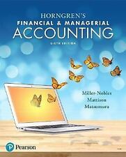 (Electronic Book) Horngren's Financial & Managerial Accounting (6th Edition)