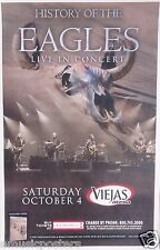 """EAGLES """"HISTORY OF THE EAGLES 2014 TOUR"""" SAN DIEGO CONCERT POSTER - Henley, Frey"""