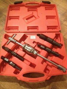 New Inner Bearing Puller Set Kit Remover 5 PCS Blind Internal Slide Hammer