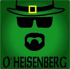 St. Patricks Day breaking bad green heisenberg t shirt