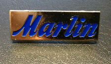 MARLIN LOGO PIN SHOOTING GUN LEVER ACTION RIFLE .22 30-30 .45 .357 .44 17HMR