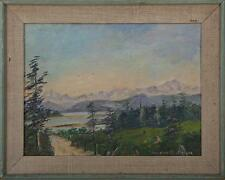 California Landscape Female Artist Modernist American School signed