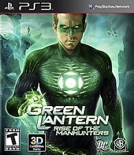 Green Lantern: Rise of the Manhunters PS3  Playstation 3