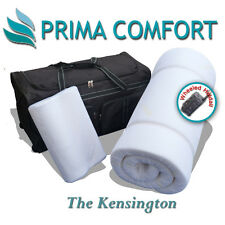 Prima Comfort Portable Memory Foam Travel Mattress Topper set  - The Kensington