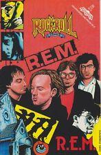 Vintage *R.E.M.* Revolutionary Underground Comic Book Mint Unread Cond! 111013 M