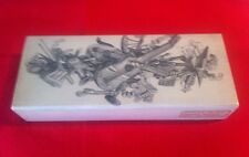Fornasetti musical instruments metal and wood box 60's