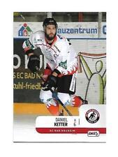DEL2 Playercard  18/19 - Daniel Ketter - EC Bad Nauheim #011