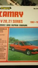 Toyota camry workshop service and repair manual 87-89 sv 20 21series - gregories