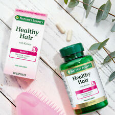 Nature's Bounty ® Healthy Hair with Keratin - Pack of 60