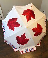 Beach Umbrella or for Patio Umbrella Canadian Maple Leaf - CANADA DAY JULY 1