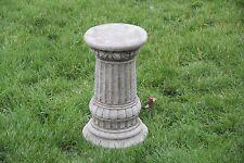 FANCY COLUMN/PLINTH BASE Stone Garden Ornament Handmade Bespoke Decor