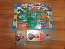 CL/N64 LEGEND OF ZELDA/OCARINA OF TIME/BOX/MANUAL!